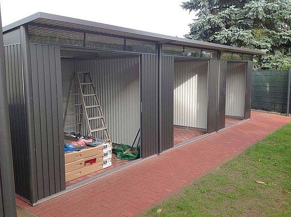 Biohort Gartenhaus AvantGarde XL verbunden 3 Stueck