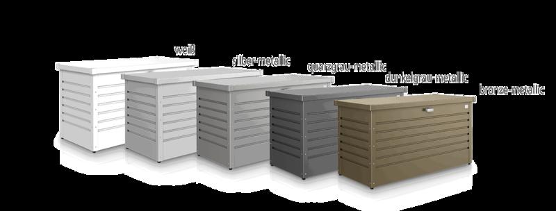 Biohort Freizeitbox, Auflagenbox Farben