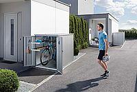Biohort MiniGarage Fahrradgarage Imagebild