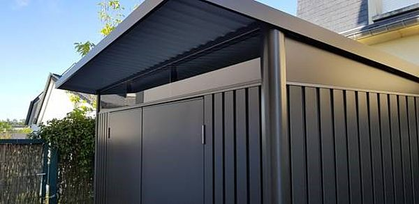 Biohort Gartenhaus aus Metall AvantGarde, Gerätehaus