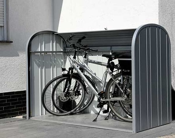 Biohort StoreMax Fahrradgarage Kundenfoto