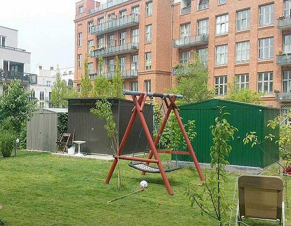 Biohort Gartenhaus Gerätehauser aus Metall Modelle Europa und AvantGarde