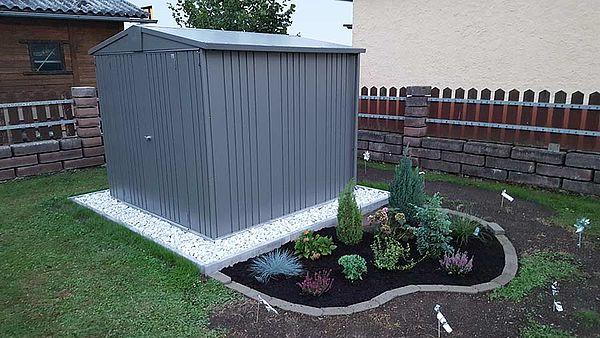 Biohort Gerätehaus Gartenhaus Gartenschuppen Europa