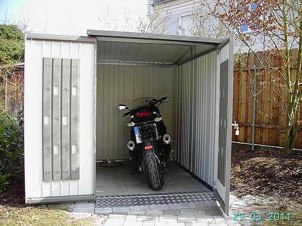 Biohort Mopedgarage Metall-Gerätehaus Europa