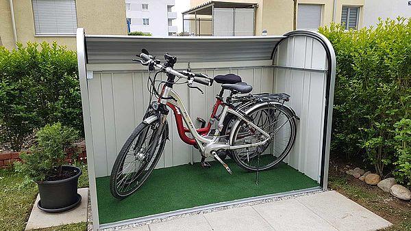 StoreMax 190 mit e-Bikes