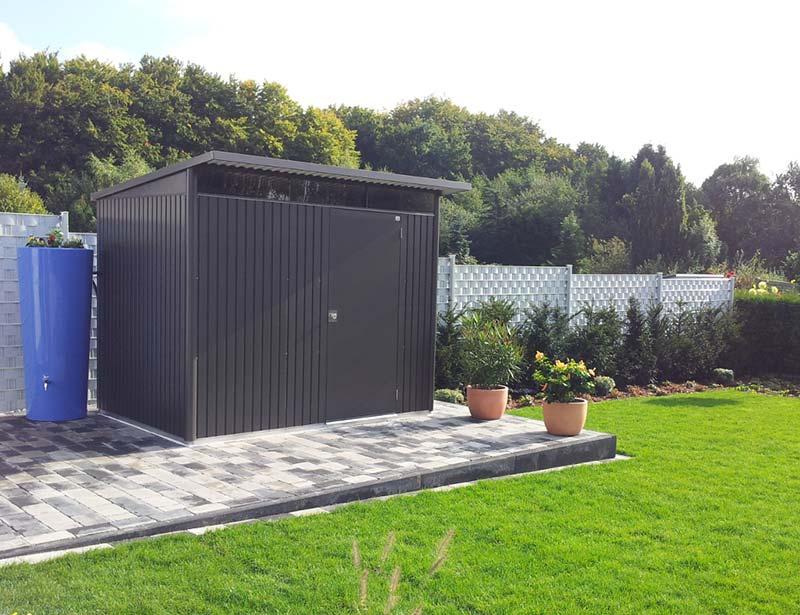 metalen tuinhuis biohort. Black Bedroom Furniture Sets. Home Design Ideas
