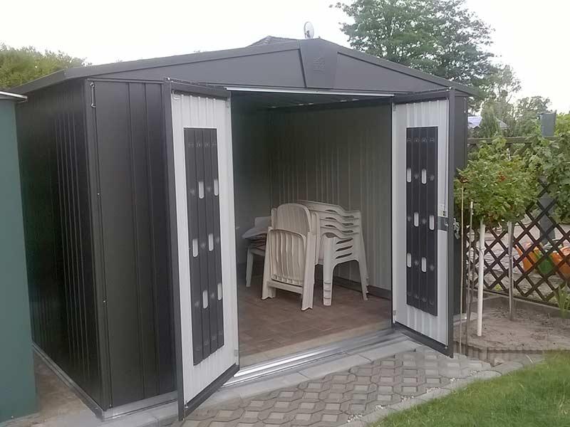biohort ger tehaus europa der klassiker aus metall. Black Bedroom Furniture Sets. Home Design Ideas