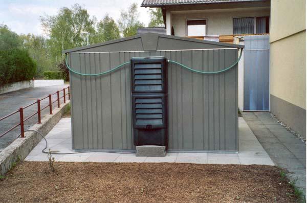 Biohort Metall-Gerätehaus Europa, Gartenhaus