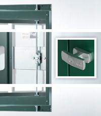 [Translate to Italienisch:] Drehgriff-Zylinderschloss Gerätehaus Europa