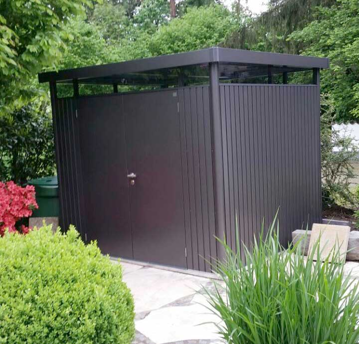 abri de jardin biohort highline le dernier abri avec un. Black Bedroom Furniture Sets. Home Design Ideas