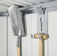 Tool shed / Tool cabinet - 4 device holders
