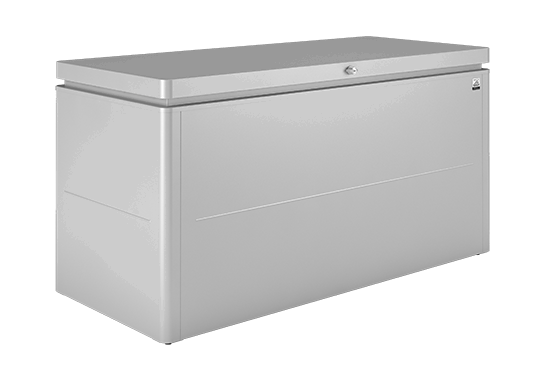 Lounge Box Silver metallic