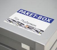 Paket Box Bedienungsanleitung