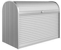 Biohort StoreMax 190 silger-metallic, Muelltonnenbox