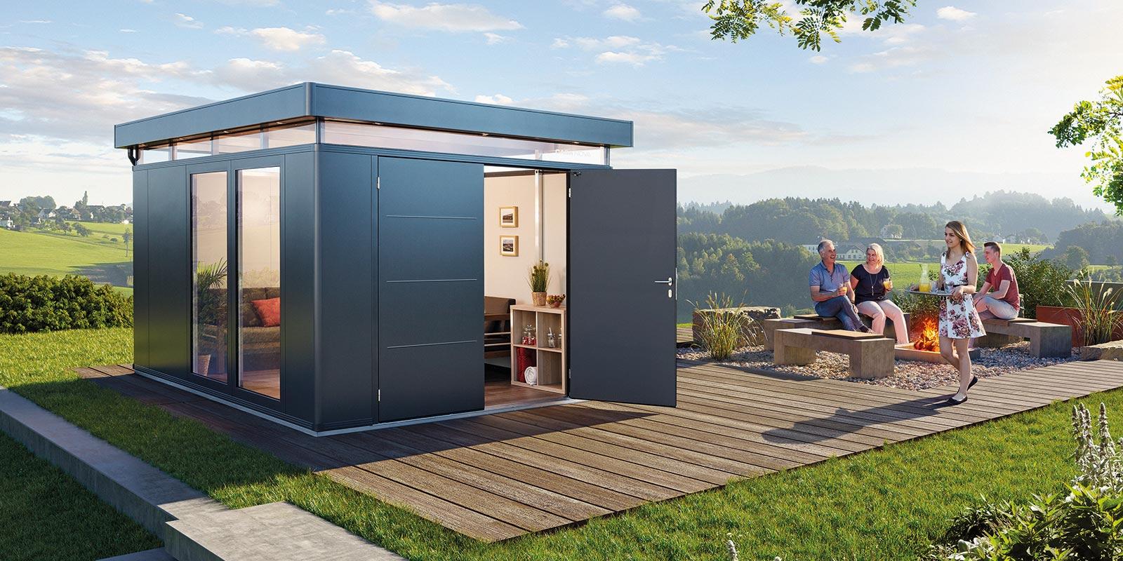Biohort - Moderne Gerätehäuser, Gartenhäuser und Boxen aus ...