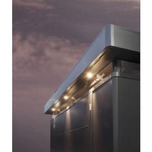 Außenbeleuchtung Ausfräsungen für Spots