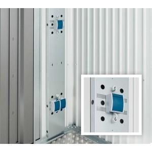 Elektro-Montagepanel Europa, Geräteschrank