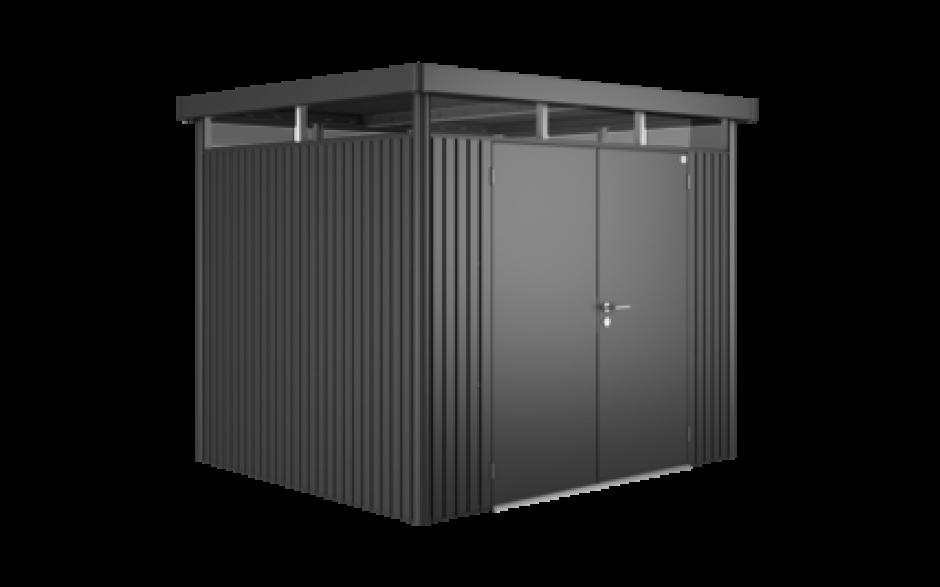 ger tehaus highline h3 dunkelgrau metallic doppelt re ger tehaus highline. Black Bedroom Furniture Sets. Home Design Ideas