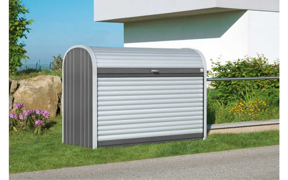 biohort storemax metallbox f r m lltonnen r der u v m. Black Bedroom Furniture Sets. Home Design Ideas
