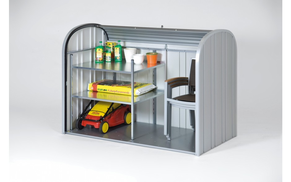 StoreMax 160 mit Zwischenboden (als Zubehör erhältlich)