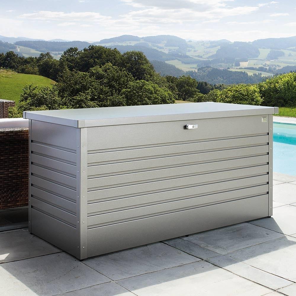 Biohort Freizeitbox Die Wasserdichte Auflagenbox Aus Metall