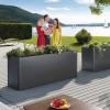 Biohort Planting Bed Belvedere metallic dark grey