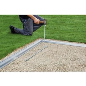 Aluminium floor frame