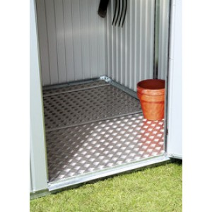Aluminium floor panel for Garden Shed