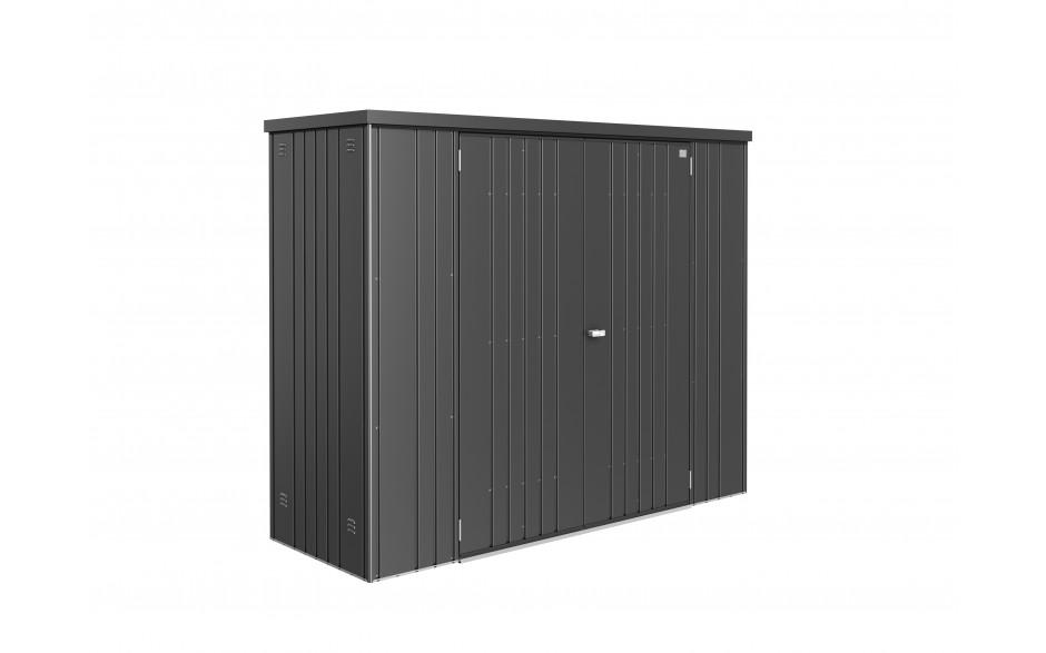 Equipment Locker size 230 metallic dark grey STUDIO