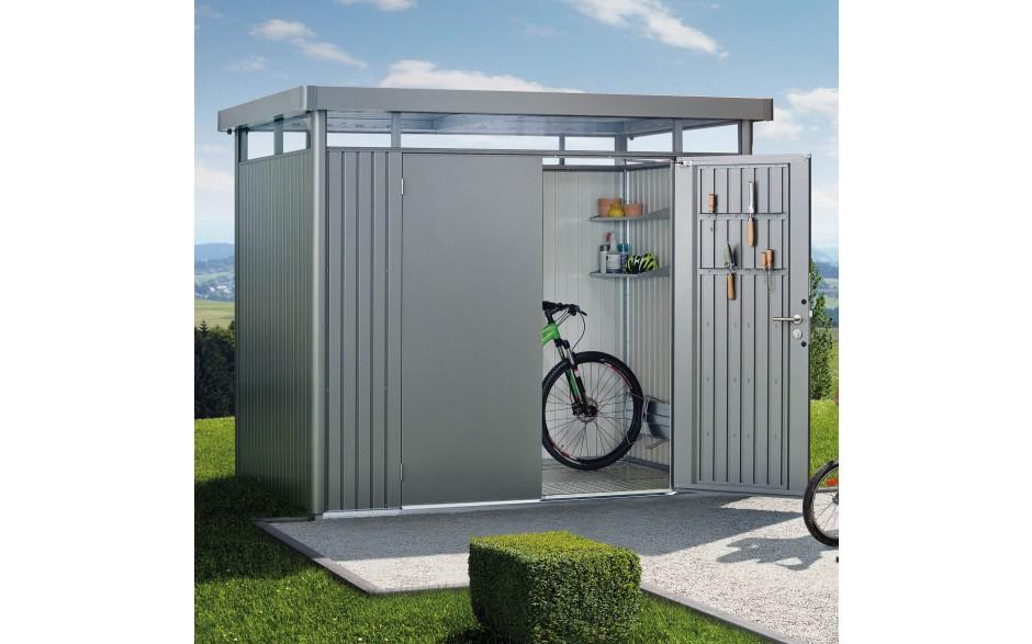 Fabulous metal tool shed, metal garden shed - Biohort PA13