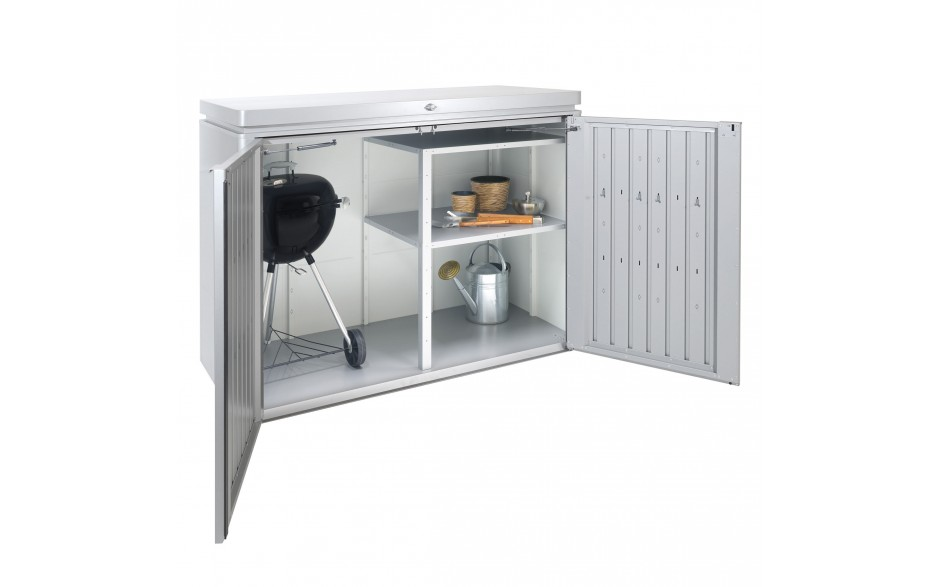 HighBoard size 160 metallic silver