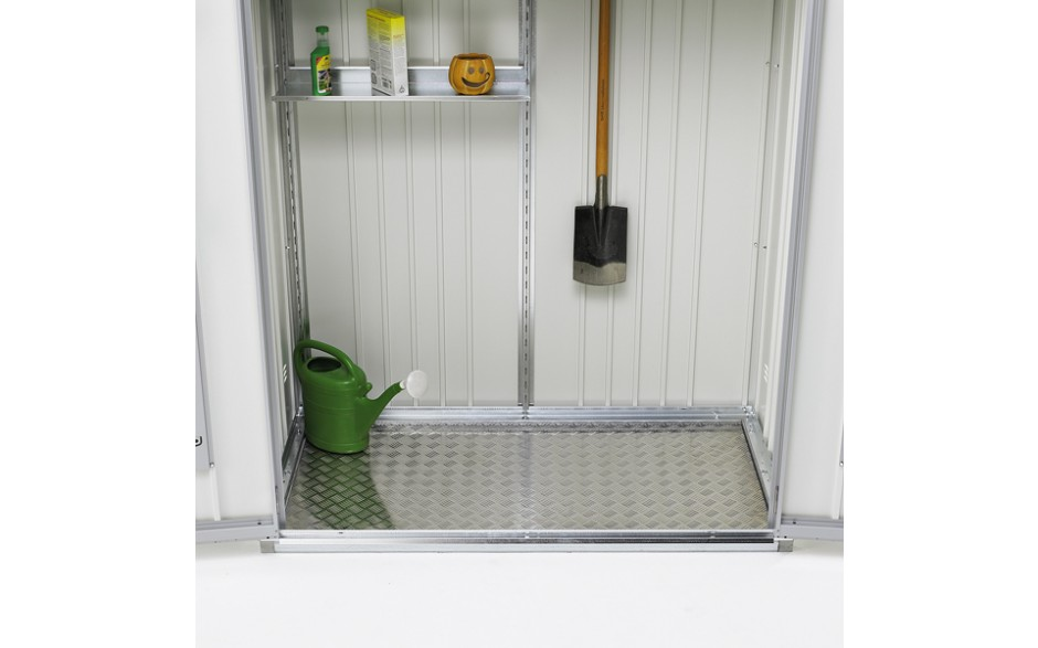 Optional: Aluminium floor panel