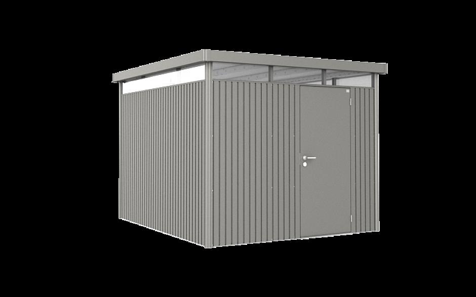 Frisch metal tool shed, metal garden shed - Biohort ZM35