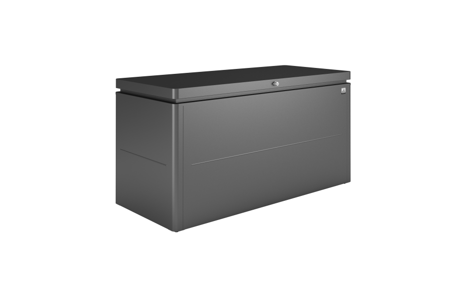 LoungeBox size 160 metallic dark grey