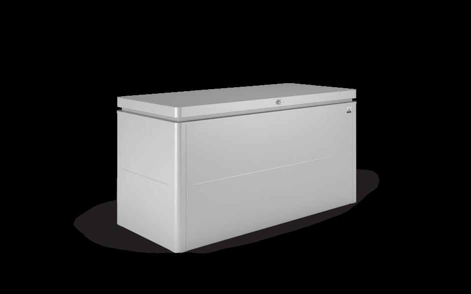 LoungeBox size 160 metallic silver