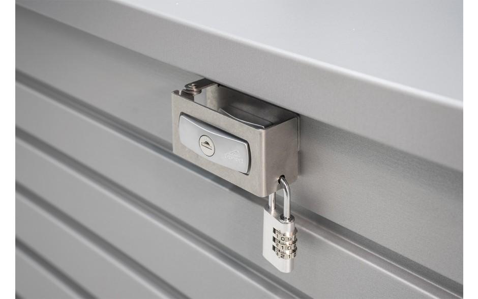 PAKET-BOX interlocking device