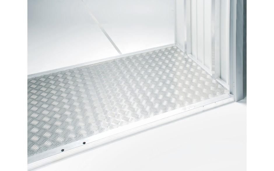 Aluminium floor panel
