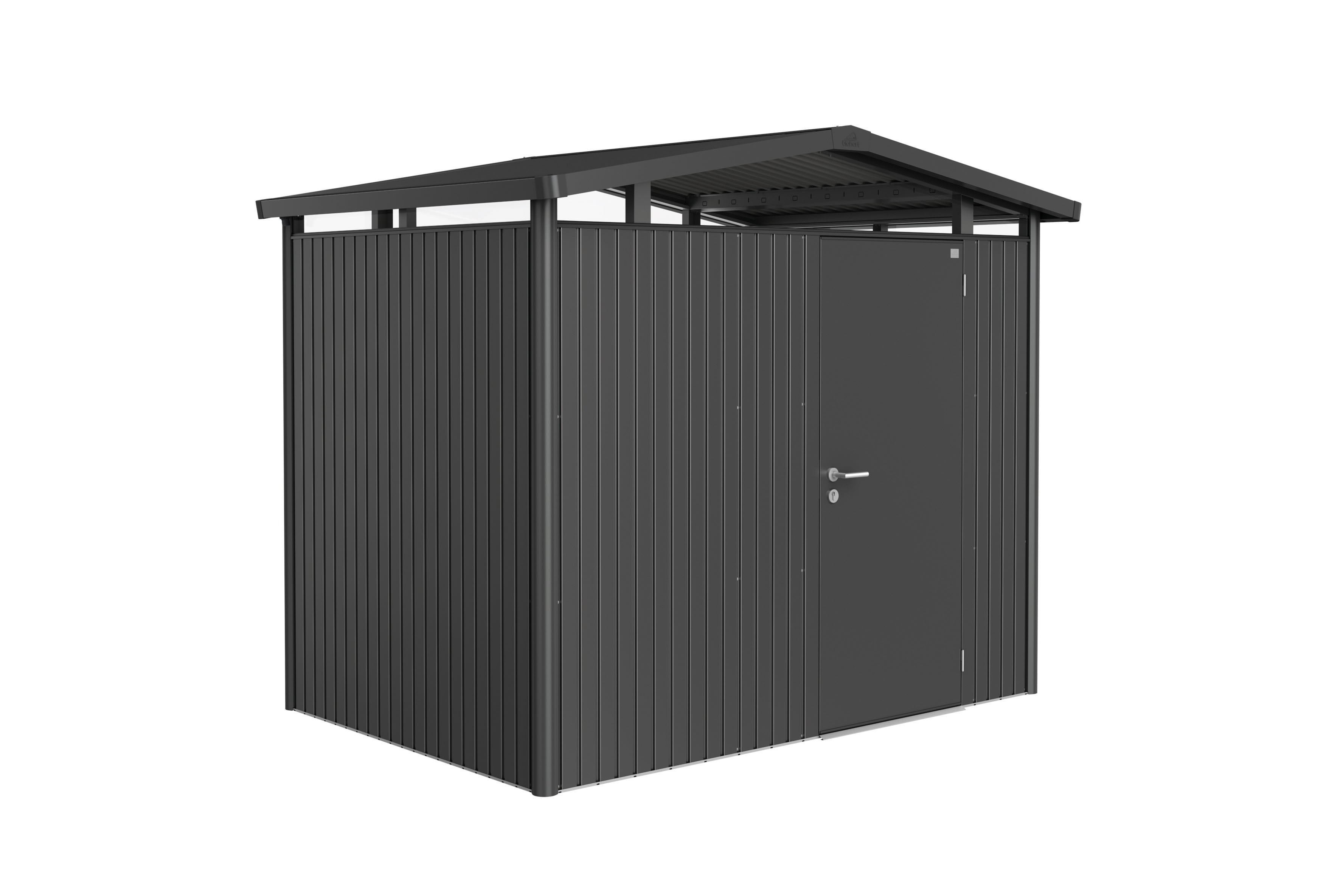 Biohort panorama metal tool shed metal garden shed