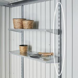 Guías para estanterías, 2 unidades