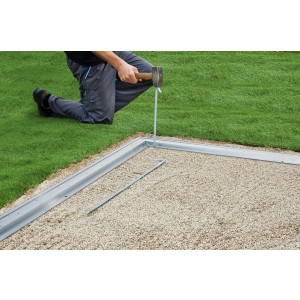 Marco de suelo de aluminio CasaNova 4x2