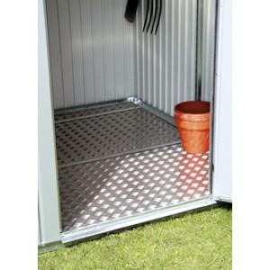 Placa de suelo de aluminio para Armario de jardín