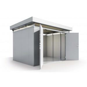 2. hoja de puerta CasaNova plata metalizada derecha