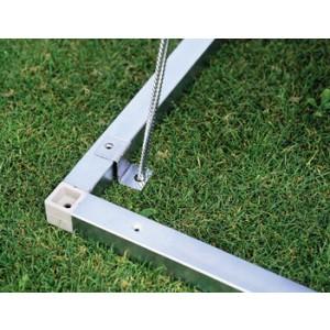 Marco de suelo de aluminio para Armario de jardín