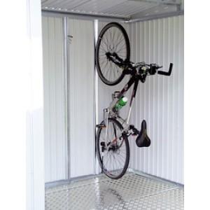 Support de vélo pour l´abri de jardin Europa et l´armoire à outils