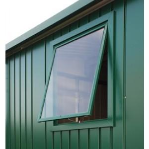 Elément de fenêtre l'abri de jardin Europa vert foncé