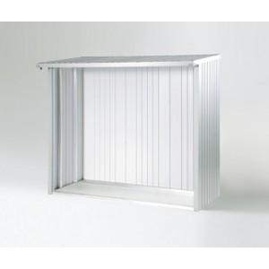 Panneau arrière WoodStock® 150 gris foncé métallique