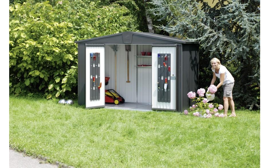 biohort europa le classique des abris de jardin en m tal. Black Bedroom Furniture Sets. Home Design Ideas