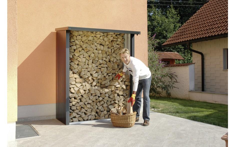 WoodStock 150 - Holzlagerung in zwei Reihen