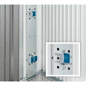 Electrical mounting panel