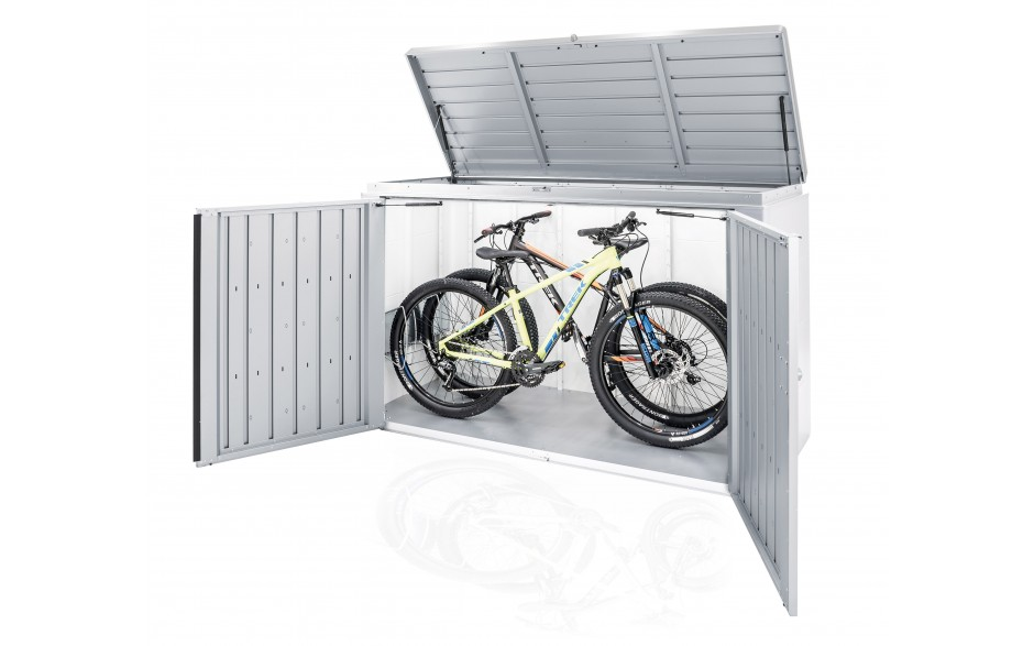 """Fahrradständer """"bikeHolder"""" für HighBoard 200 als Zubehör erhältlich"""